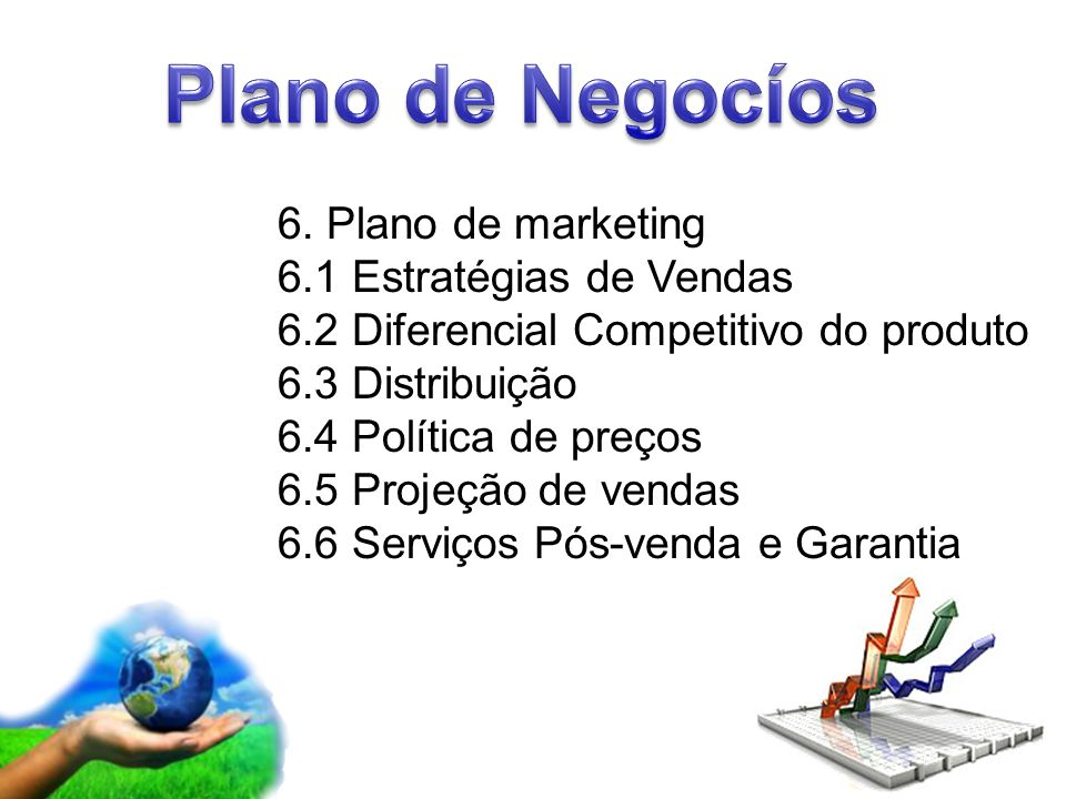 Plano de Negocíos 6. Plano de marketing 6.1 Estratégias de Vendas