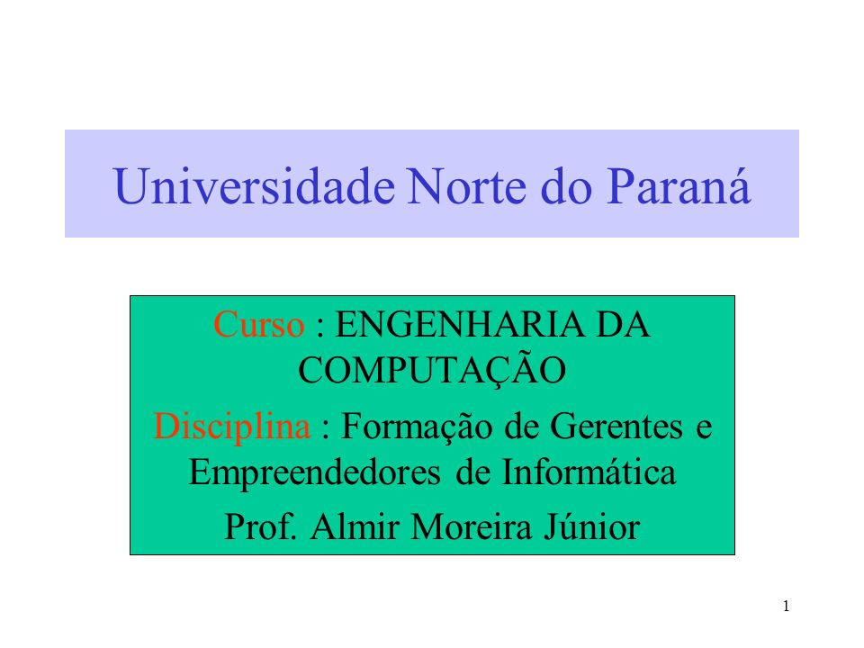 Universidade Norte do Paraná