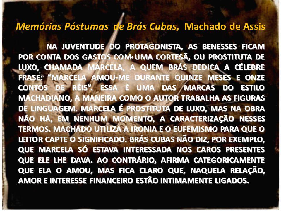 Memórias Póstumas De Brás Cubas Machado De Assis Ppt Carregar