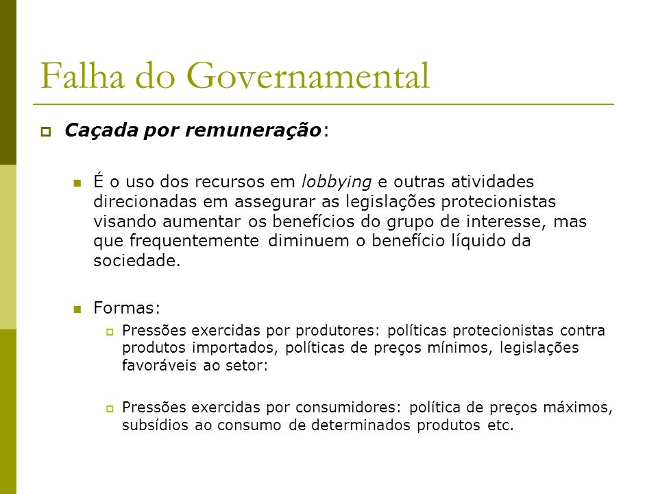 Falha do Governamental