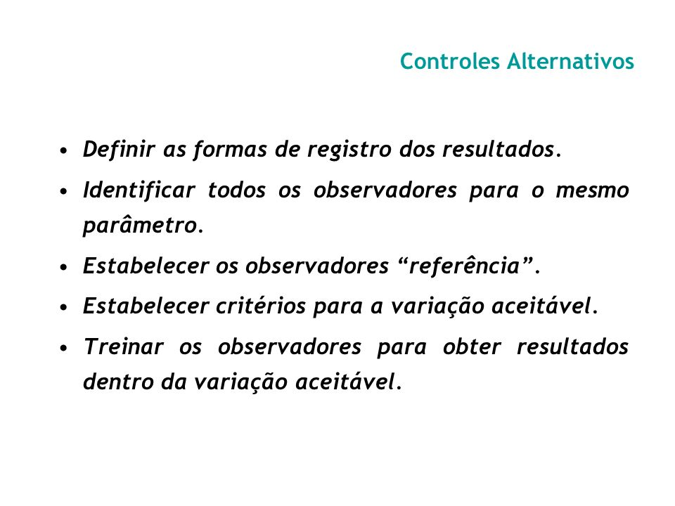 Controles Alternativos