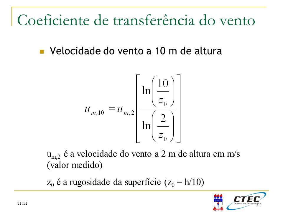 Coeficiente de transferência do vento
