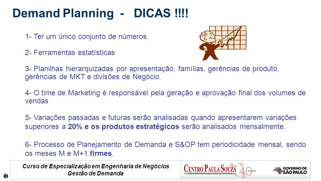 Demand Planning - DICAS !!!!