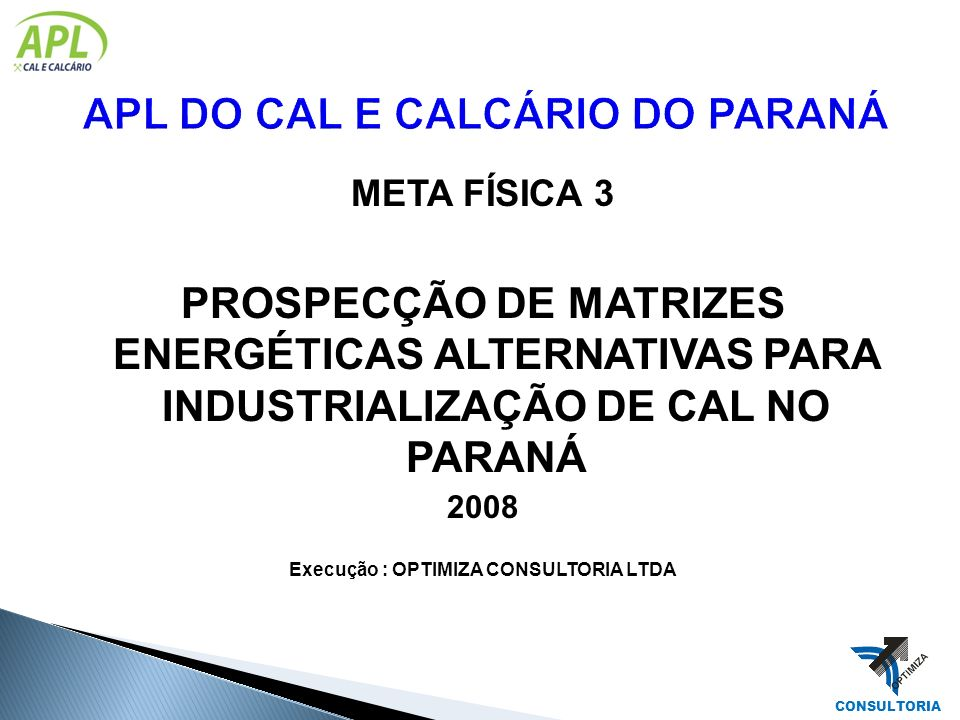 APL DO CAL E CALCÁRIO DO PARANÁ