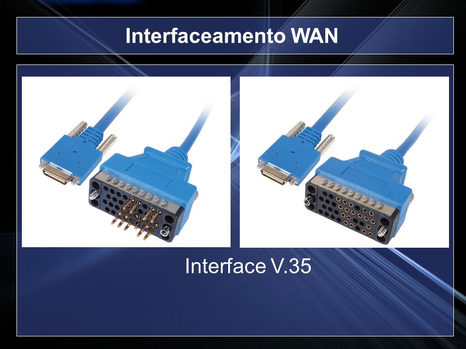 Interfaceamento WAN Interface V.35