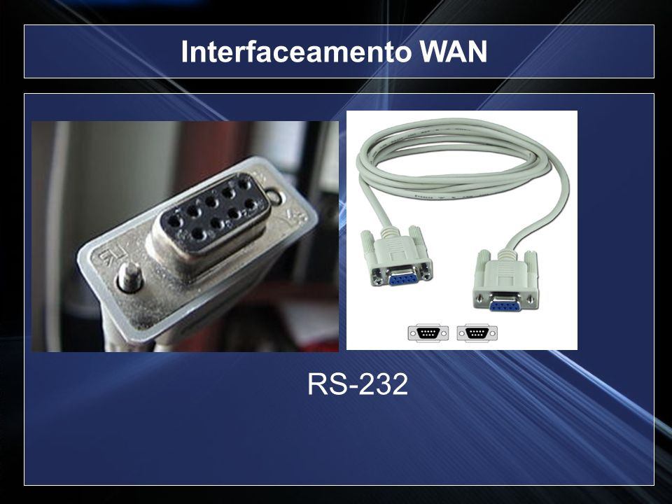 Interfaceamento WAN RS-232