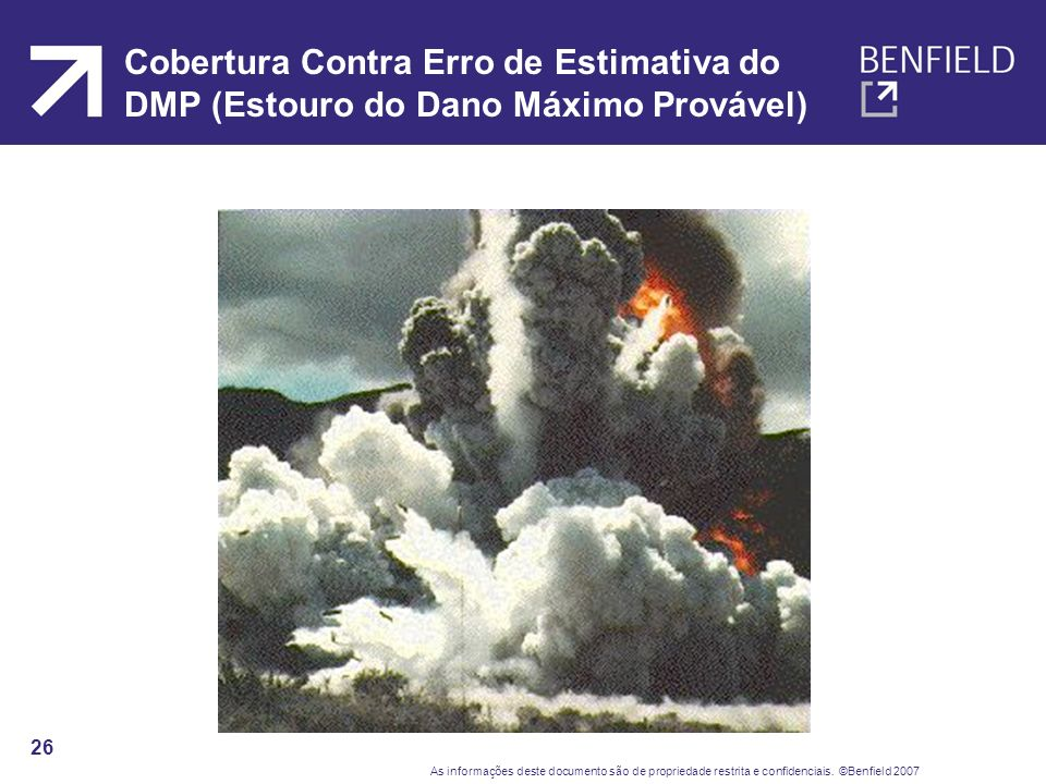 Cobertura Contra Erro de Estimativa do DMP (Estouro do Dano Máximo Provável)