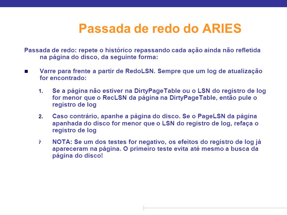 Passada de redo do ARIES