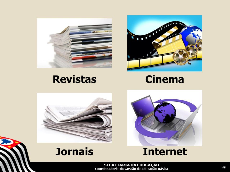 Revistas Cinema Jornais Internet