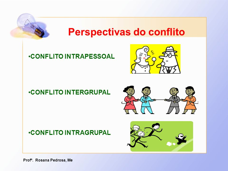 Perspectivas do conflito