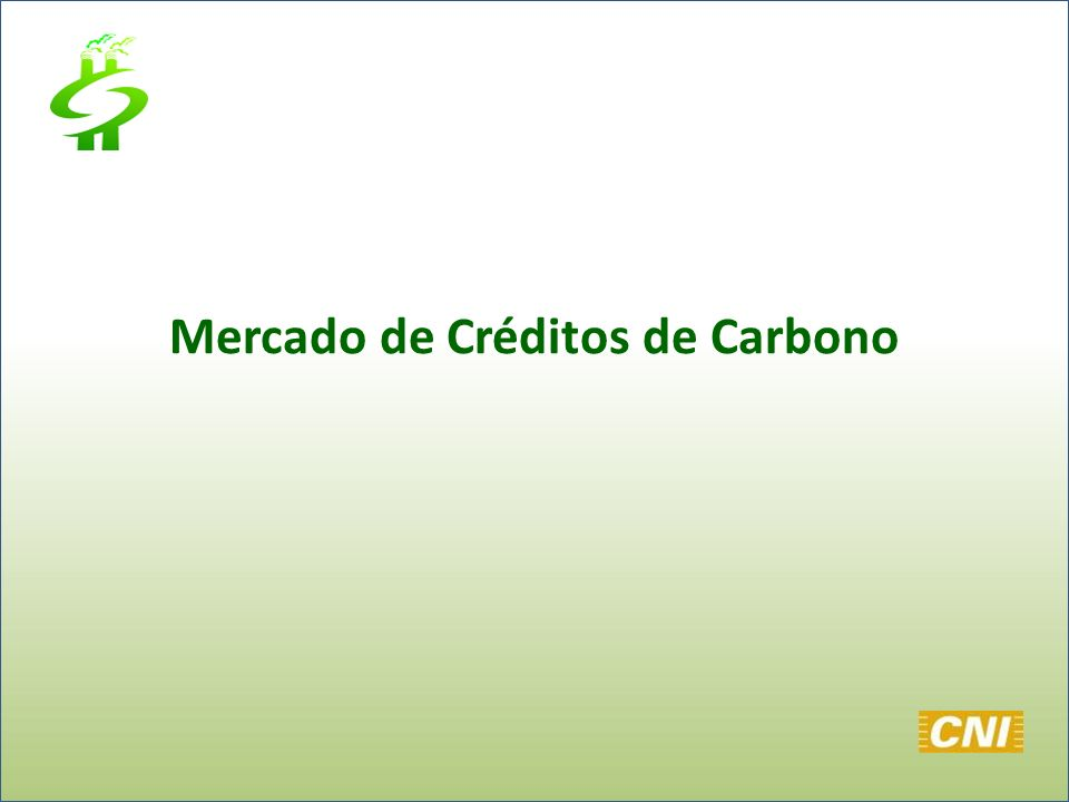 Mercado de Créditos de Carbono
