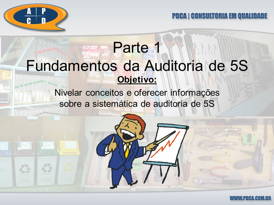 Parte 1 Fundamentos da Auditoria de 5S