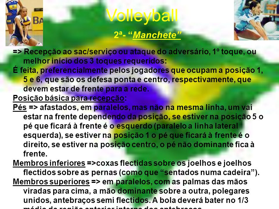 Volleyball 2ª- Manchete