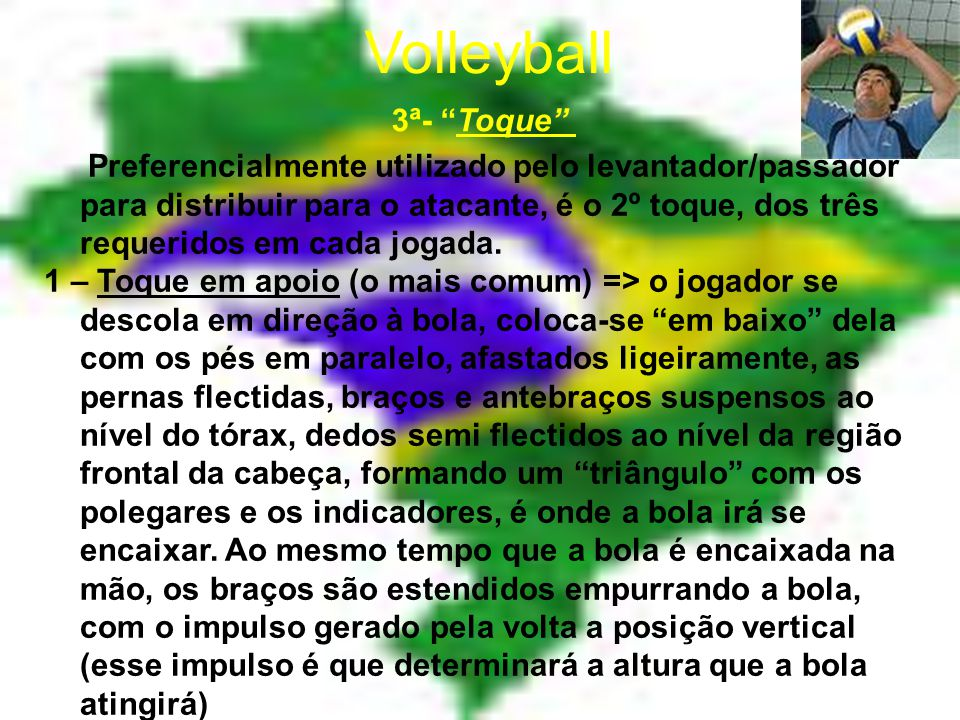 Volleyball 3ª- Toque