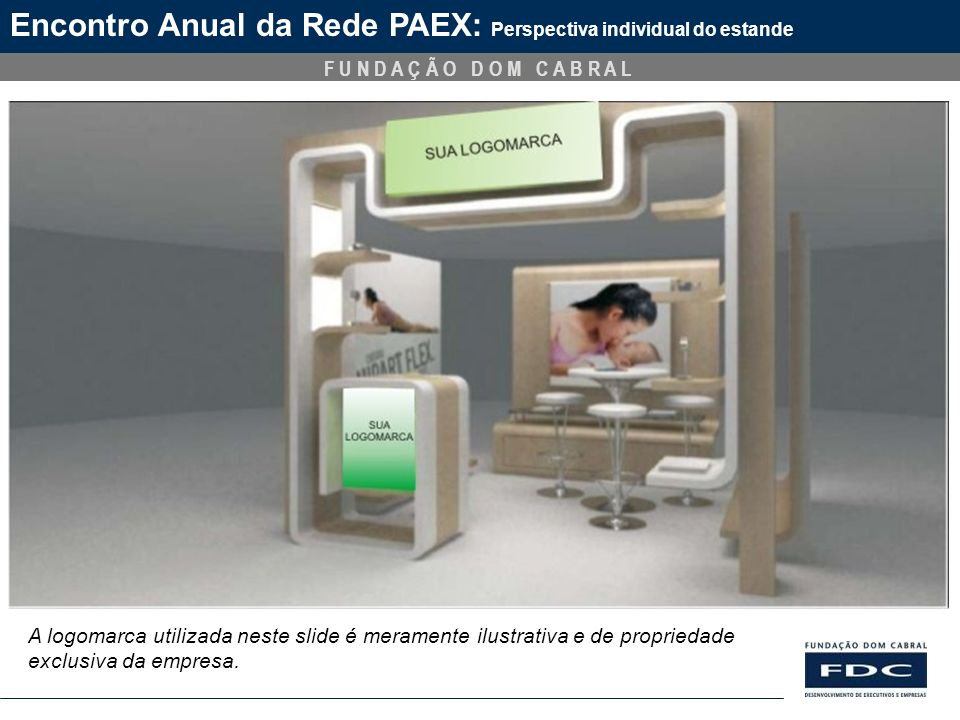 Encontro Anual da Rede PAEX: Perspectiva individual do estande