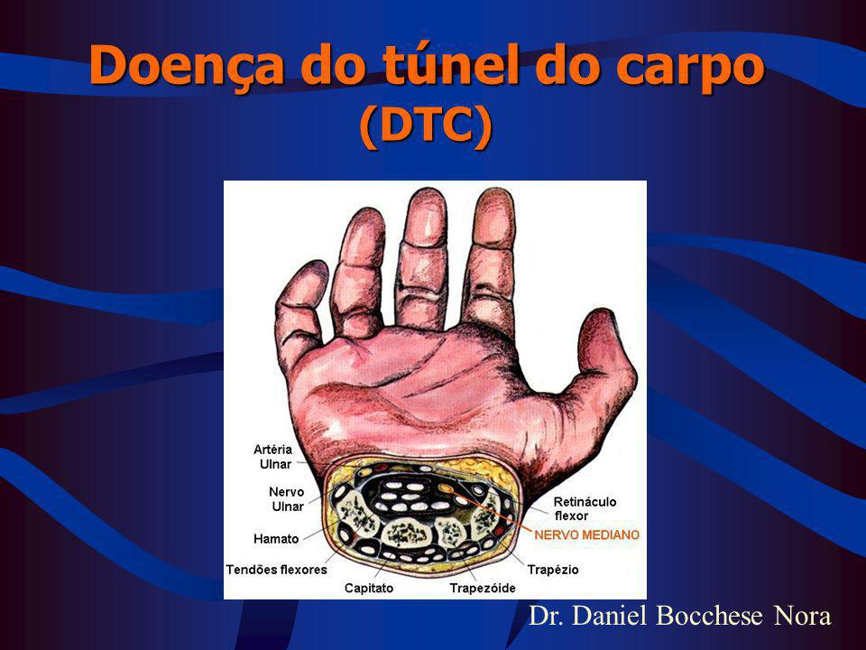 Doença do túnel do carpo (DTC)