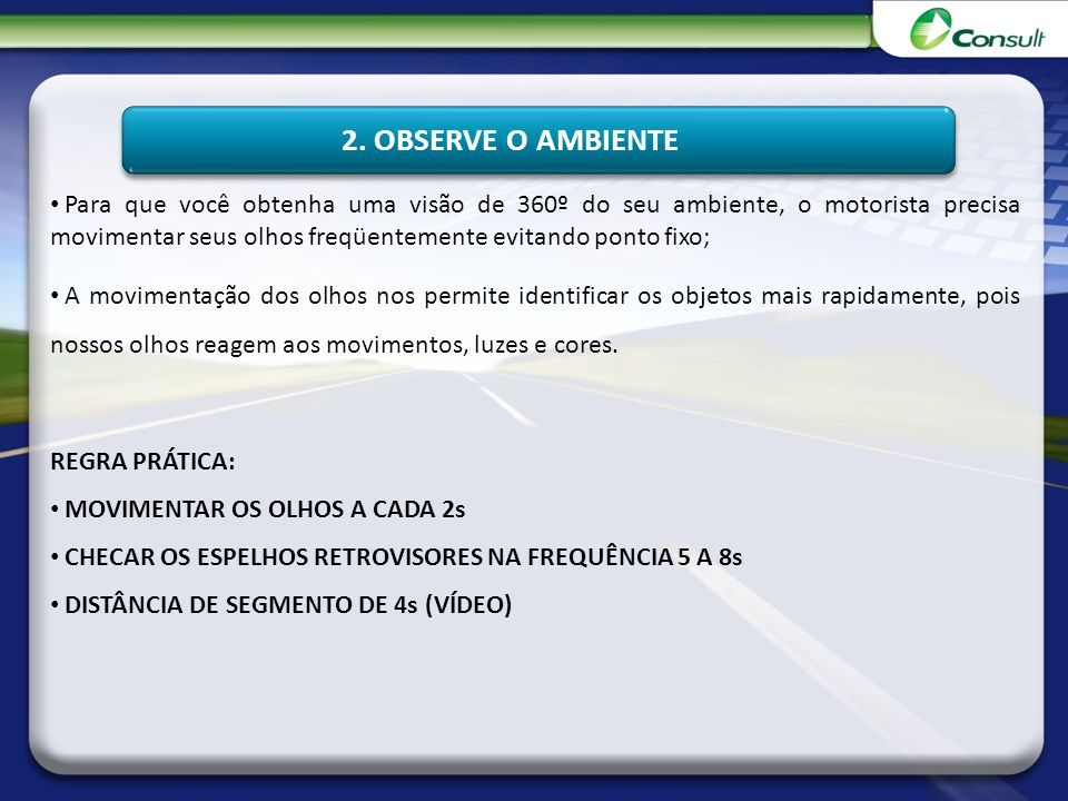 2. OBSERVE O AMBIENTE