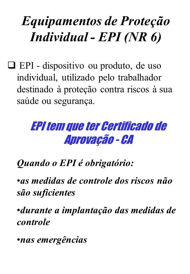ede4d653ee38b Equipamentos de Proteção Individual - EPI (NR 6) - ppt carregar
