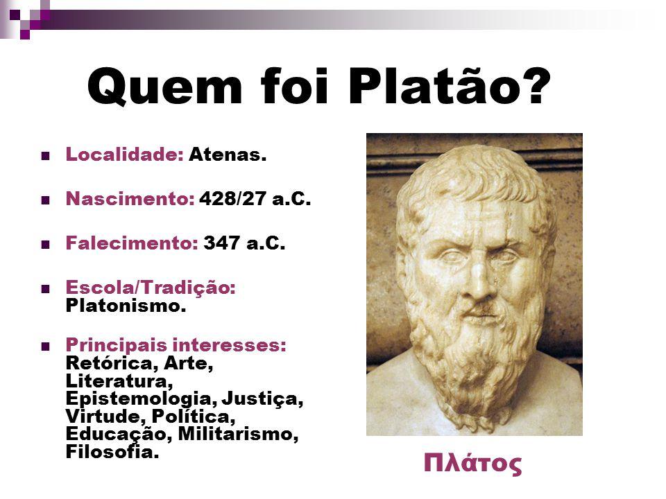 O que Platão pode contribuir com os Investidores e o Mercado Financeiro