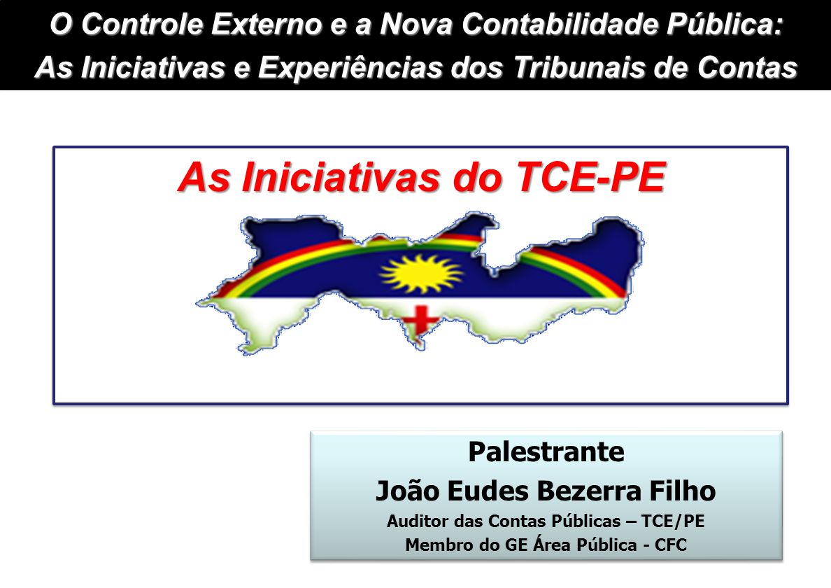 As Iniciativas do TCE-PE