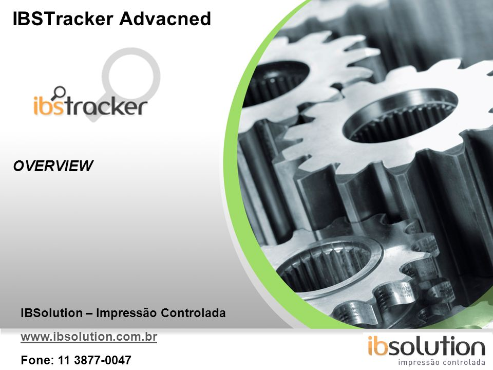 IBSTracker Advacned OVERVIEW