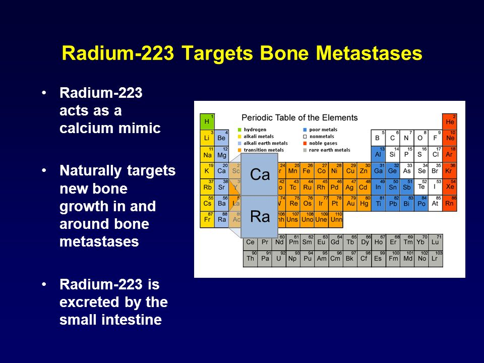 Radium-223 Targets Bone Metastases