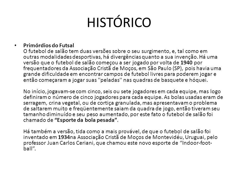 FUTSAL HISTÓRICO E REGRAS. - ppt carregar 8ba819ddf1cb9