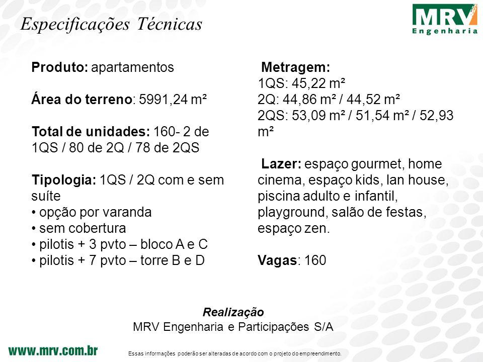 0ae4d774b40 2 MRV Engenharia e Participações S A Especificações Técnicas Produto   apartamentos ...
