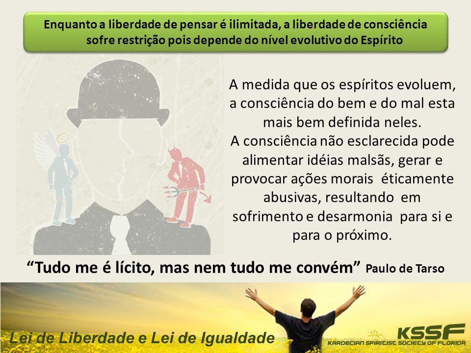 ROTEIRO Liberdade Natural, Liberdade De Pensar E Liberdade