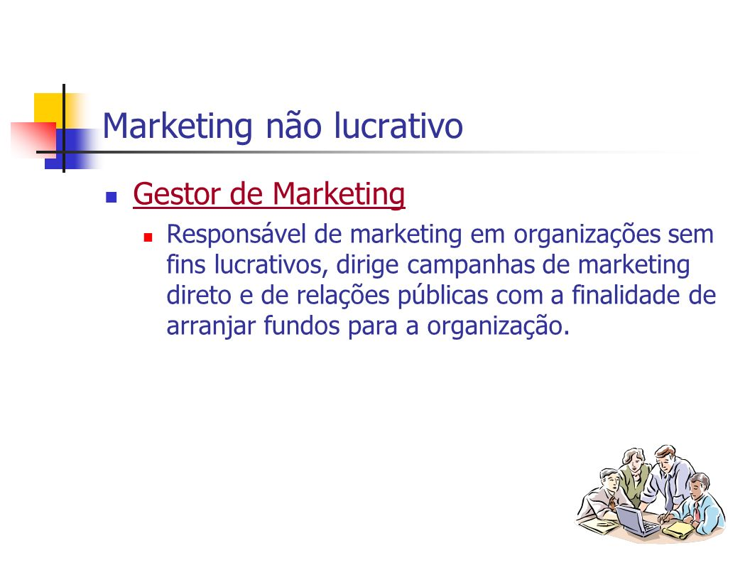 Marketing não lucrativo