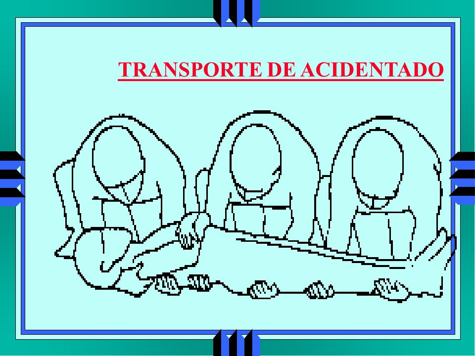 TRANSPORTE DE ACIDENTADO