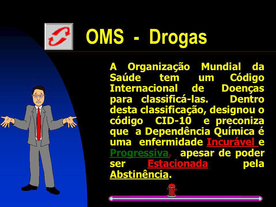 OMS - Drogas