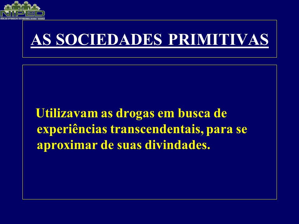 AS SOCIEDADES PRIMITIVAS