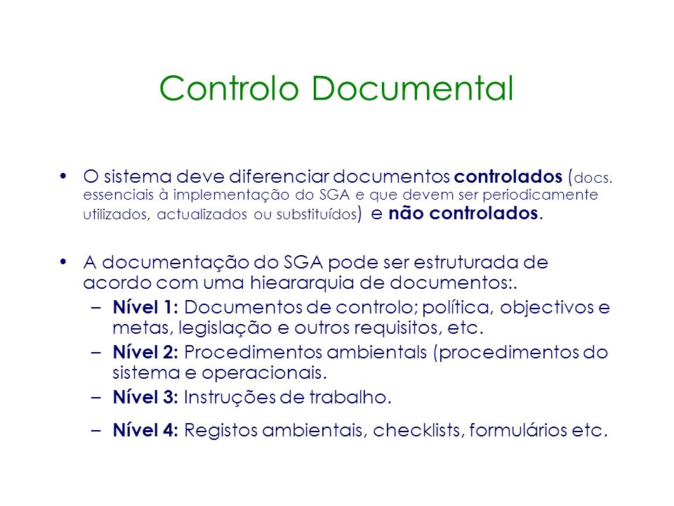 Controlo Documental