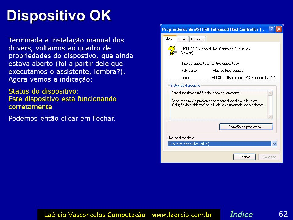 Dispositivo OK