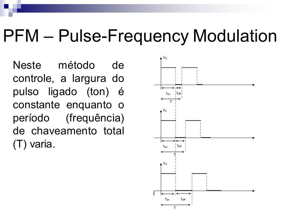 PFM – Pulse-Frequency Modulation