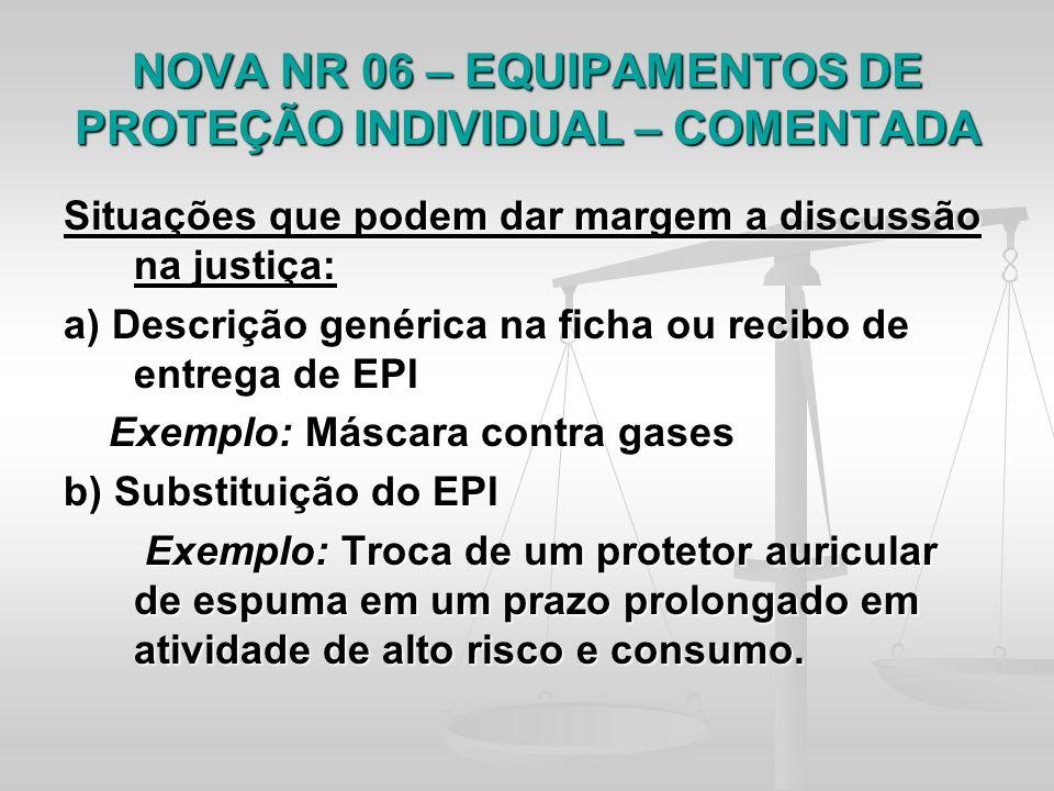 8333dc62167bf TEMA  Regulamentação dos EPIs no Brasil - Comentários acerca da NR-6 ...