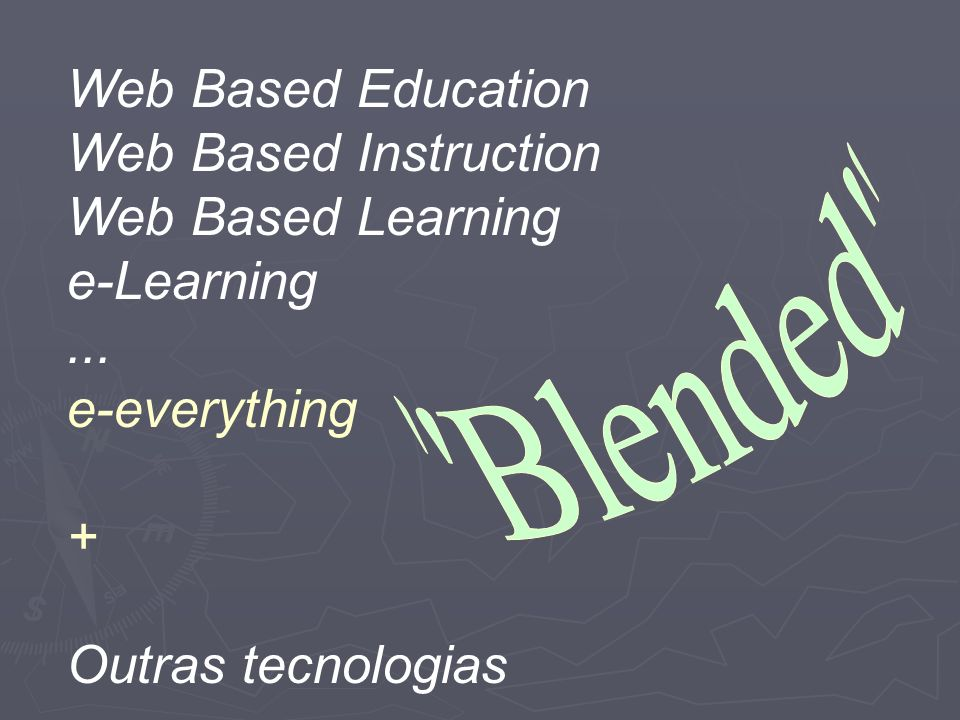 Web Based Education Web Based Instruction Web Based Learning