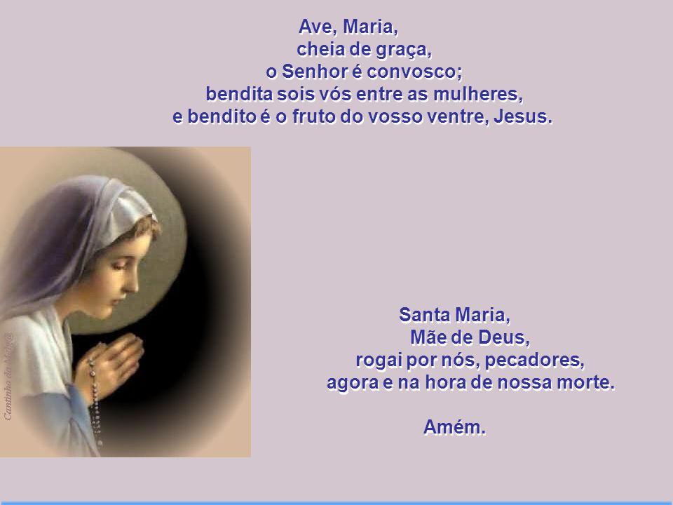 Versões da Oração Ave Maria Fundo Roxo