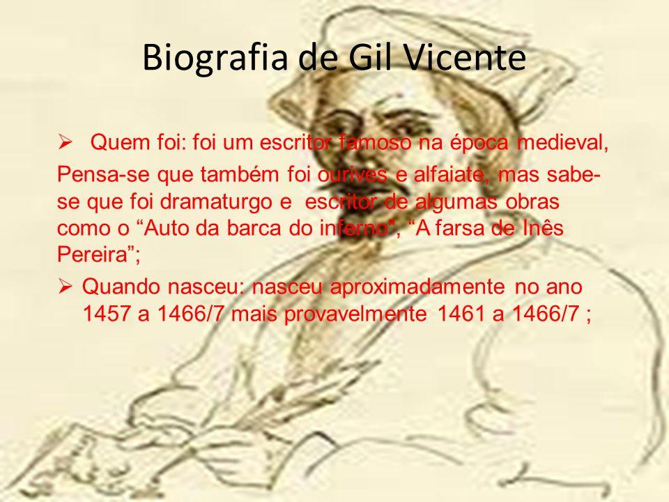Biografia De Gil Vicente Ppt Carregar
