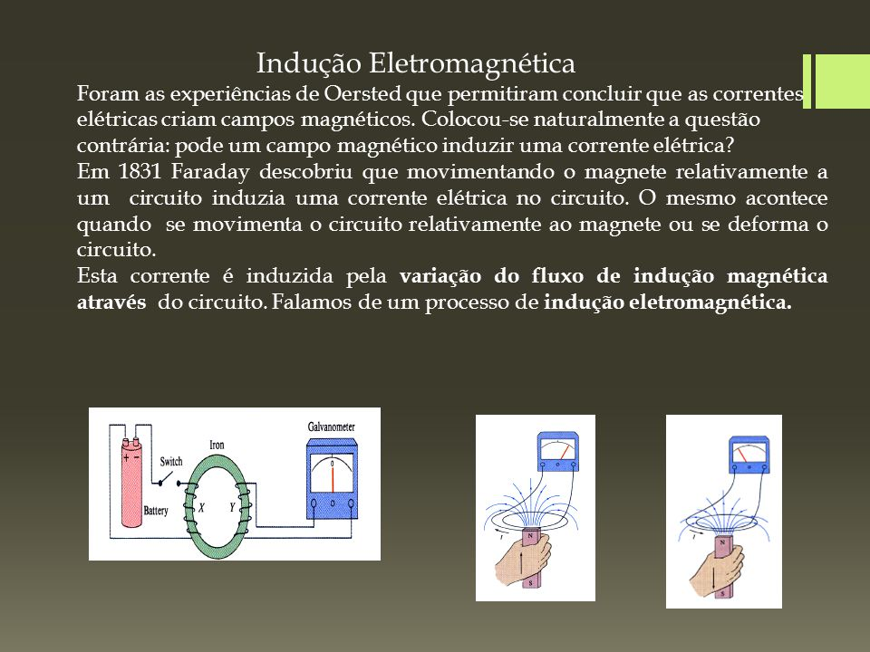 29aeb1b72c6 Indução Eletromagnética - ppt carregar
