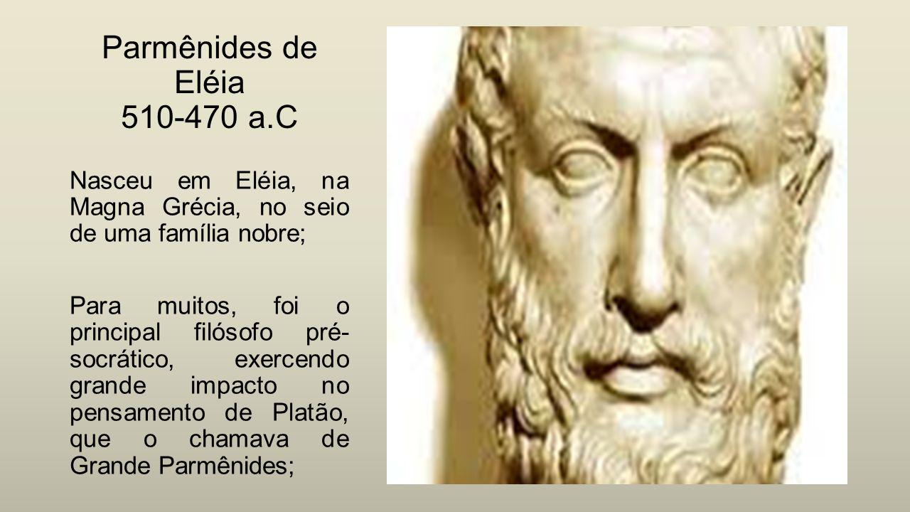 Resultado de imagem para Parmênides