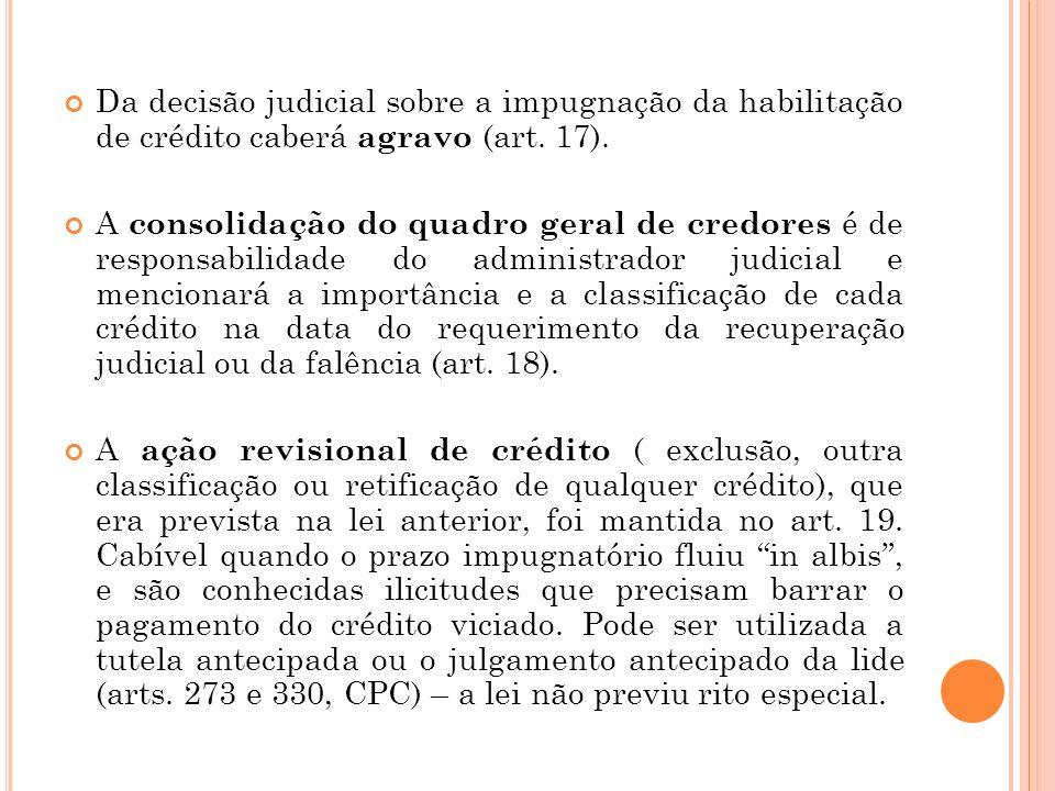 195a493b91 5 Da decisão judicial sobre a impugnação da habilitação de crédito ...