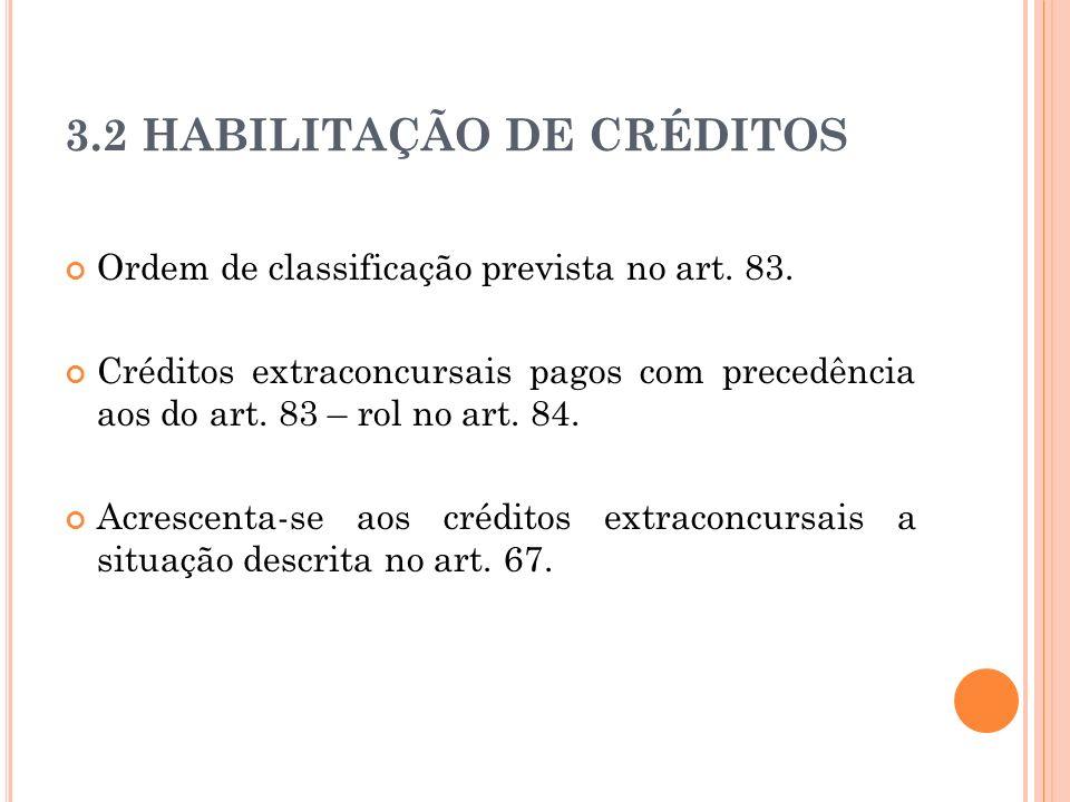 6c92d6585d UNIDADE 3 HABILITAÇÃO E CLASSIFICAÇÃO DE CRÉDITOS - ppt carregar