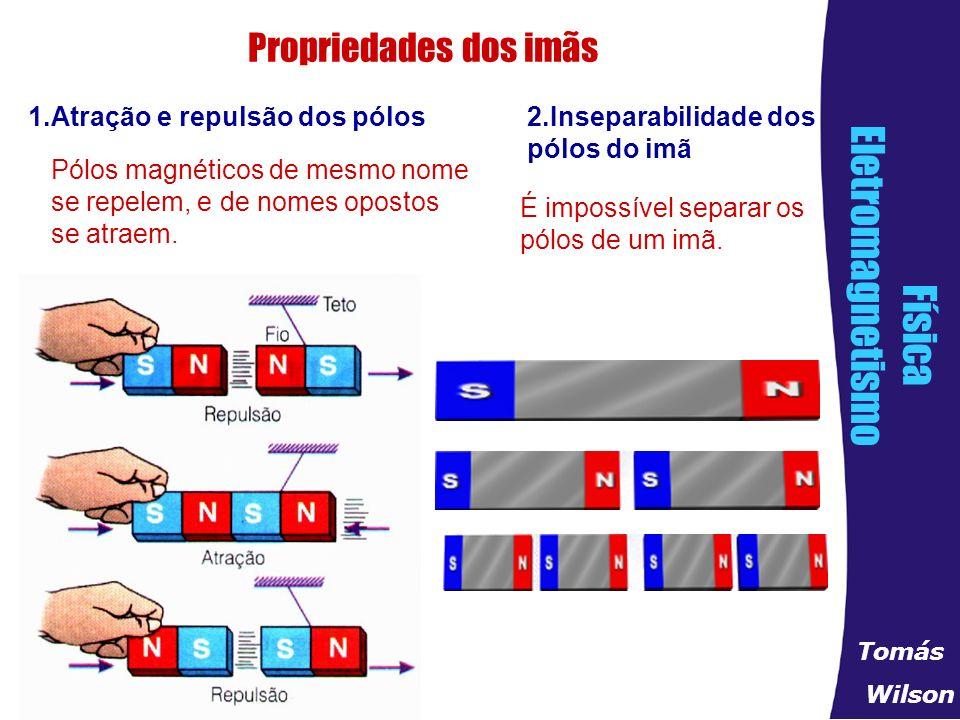 acb2e8dc21d ELETROMAGNETISMO Imãs -corpos que tem o poder de atrair ferro e que ...