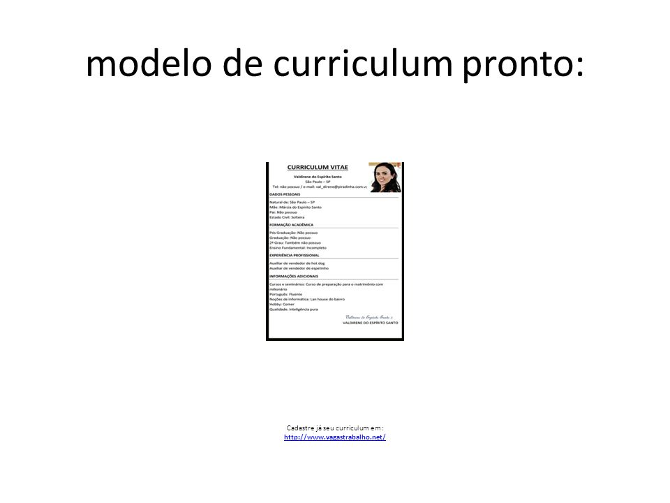 fotos de curriculum pronto