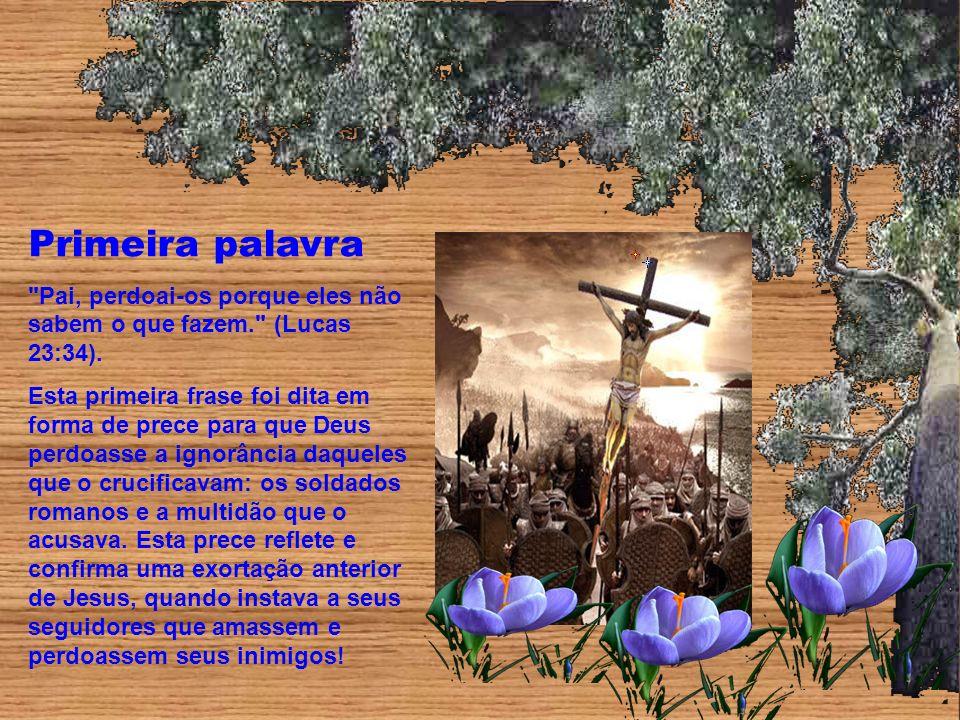 As Sete Palavras De Jesus Na Cruz Ppt Carregar