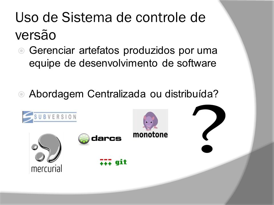 772324f6c7 Análise de Desempenho dos sistemas de controle de versão SVN e Git ...