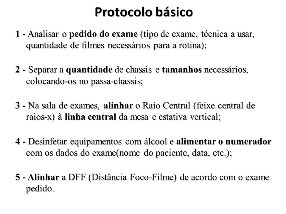 eb7be62bd39f5 Protocolo básico 1 - Analisar o pedido do exame (tipo de exame
