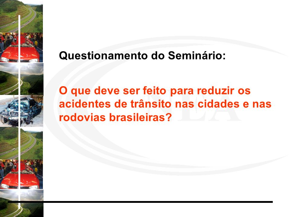 Questionamento do Seminário: